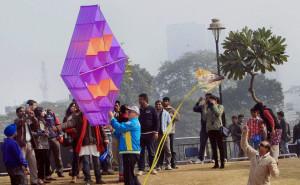 Kite Festival begins in New Delhi